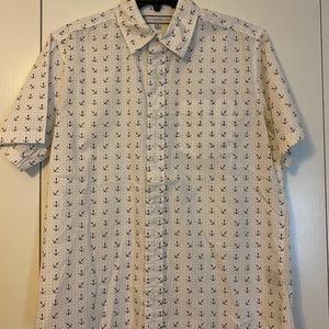 PD&C Button Down Anchor Shirt